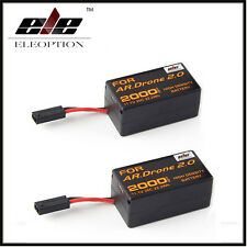 2X 2.0Ah 11.1V Powerful Rechargeable Battery For Parrot AR.Drone 2.0 Quadcopter
