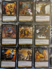 Warcraft TCG Cards Heroes of Azeroth Select Your Card Free Postage
