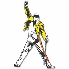 "Freddie Mercury Queen Vynil Car Sticker Decal -4 Pack  2.5"""