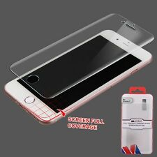 For Apple iPhone 7 Full Coverage Clear Tempered Glass Screen Protector
