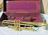 THE BUESCHER TRUMPET TRUETONE LOW PITCH  B 10/22  MANUFACTURED IN  1925