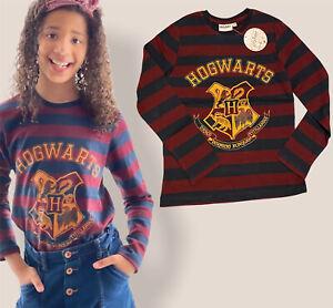 Kids boys girls Harry Potter hogwarts 4 houses long sleeve top t-shirt cotume