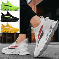 Fashion Men's Platform Casual Shoes Outdoor Sports Running Athletic Sneakers Gym