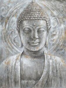Buddha Canvas Print  Zen Art Painting Home Wall Decor 90x120cm