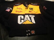 Ward Burton Winston Cup CAT Racing Jacket Size Kids Large