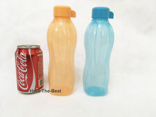 H2O On The Go Eco Bottle Water Drink Sport 500ml (2) Tupperware