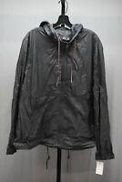Andrew Marc Quinn Hooded Windbreaker Jacket, Men's Size XL, Black NEW