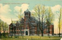 Richmond Indiana~Lindley Hall @ Earlham College~1913 PC