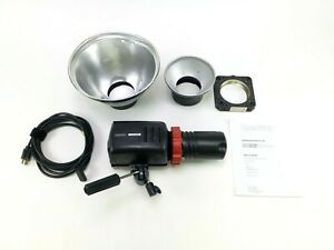 Speedotron Force 10 Monolight Head with Bulb, Power Cord, and Accessories, in EC