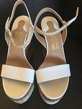New Salvatore Ferragamo Women Platform White Size 7.5 Reg. Price $280.00 ��