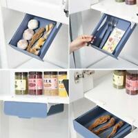 Kitchen Storage Drawer Box Self Stick Pencil Tray Table Organizer Holder Case