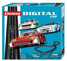 Carrera Digital 132 DRM Retro Race Slot Car Racing Race Set 30002 NEW
