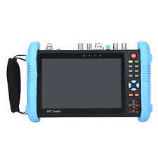 "7"" 4K CCTV IP Tester Monitor 8GB HDMI SDI TVI AHD CVBS Camera Test H.265 Video"