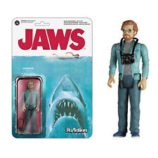 """Funko Reaction Jaws Hooper Action Figure Size 3.75"""""""