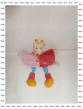 ♪ - Doudou Semi Plat Girafe Maé Rose Fuchsia Bleu Orange ..... Baby Nat
