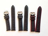 Cinturino Vera Pelle Italiana Traforata RACING VINTAGE SPORT RALLY 18 20 22 mm
