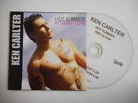 KEN CARLTER with MY LOVE : HOT SUMMER (2 VERSIONS) [ CD SINGLE ] ~ PORT GRATUIT