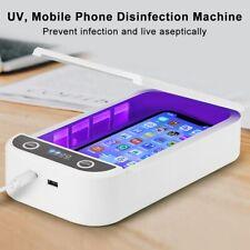 UV Sterilisator Desinfektionbox UV-Licht Sterilizer Box für Telefon Maske UVC