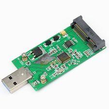 Mini PCI-E mSATA to USB 3.0 External SSD PCBA Conveter Adapter Card