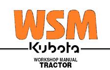 Kubota Tractor Model L260 Service Repair Shop Manual on CD - Free Shipping