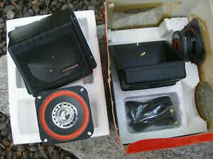 BRAND NEW OLD STOCK! Sparkomatic Car Stereo Speakers SK 410 - NOS NICE!