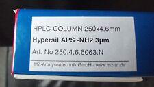Hypersil APS NH2, 3µm,HPLC-Säule aus Laborauflösung >NEU & OVP<