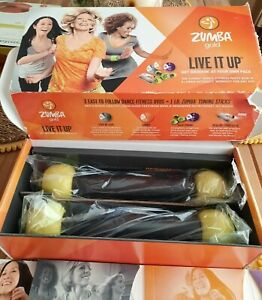 Live it up zumba gold  dvd learn at your own pace complet