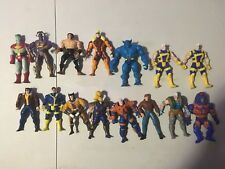 1990s Marvel Xmen toy biz lot 15 figures