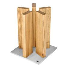 Kai Magnet-Messerblock Stonehenge Messerblock Messerhalter Messer Block Eiche