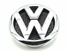 GENUINE OEM Genuine Front Bumper Grill Chrome Black Emblem Badge Logo VW Amarok