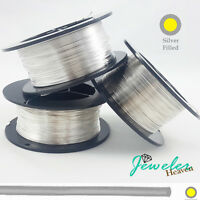 Filled-Sterling Silver Wire Round Soft 10 12 14 16 18 20 21 22 24 26 28 Gauge