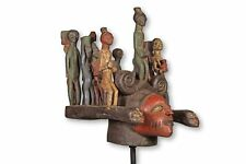 "Yoruba Magbo Headcrest Mask 22"" - Nigeria - African Art"