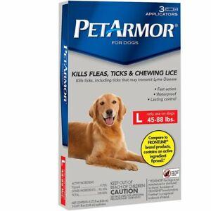 Pet Armor Flea & Tick Prevention for Dogs - Large