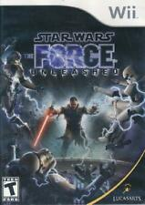 Star Wars The Force Unleashed Nintendo Wii Komplett NM Wii, Video Spiele