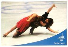 Cartolina Olimpiadi Torino 2006 - Emozione Olimpica - Perfezione