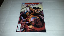 Wonder Woman / Conan # 1 Cover 1 (DC / Dark Horse, 2017) 1st Print
