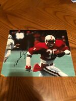 MIKE ROZIER NEBRASKA CORNHUSKERS SIGNED AUTOGRAPHED 8X10 PHOTO 1