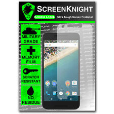 ScreenKnight LG Google Nexus 5X FRONT SCREEN PROTECTOR invisible shield