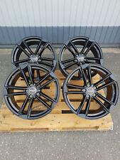 18 Zoll Wheelworld WH27 Alu Felgen et45 5x112 schwarz für Audi VW Rotor S3 RS R