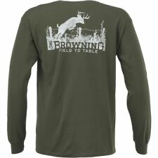 Browning Men's Authentic Arms Classic Outdoor Graphic Top Medium
