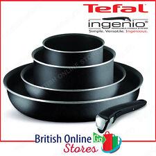 TEFAL Ingenio esencial utensilios de cocina de 5 piezas Kit de Arranque, Negro