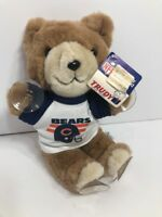 Rare VTG 1980s Chicago Bears Officially Licensed Trudy NFL Car Window Teddy Bear