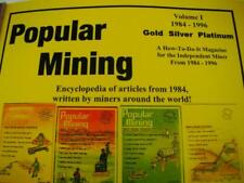 Popular Mining-Encyclopedia of Articles#1-Plans-DIY-Gold Prospecting History(H31