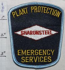 PENNSYLVANIA, SHARONSTEEL PLANT PROTECTION EMERGENCY SERVICES FIRE PATCH