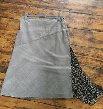 Vintage 90s A-Line Asymmetrical Diane Von Furstenberg Skirt Size 6/8
