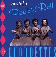 The Chordettes - Mainly Rock N Roll [New CD] UK - Import