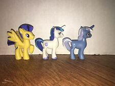 My Little Pony Friendship Is Magic Lot Of 3 Pony's