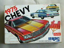 1975 Chevy Customizing Kit by MPC #1-7504 Police/Stock /Race Car Hauler Version