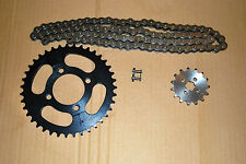 Honda C90 CUB 84-02 Chain and Sprocket Kit H/DUTY CHAIN Front Rear Sprockets