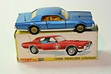 Dinky 174 Mercury Cougar, Very Near Mint in Original Box
